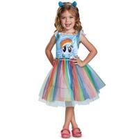 Disguise Rainbow Dash Movie Classic Toddler Costume - Blue
