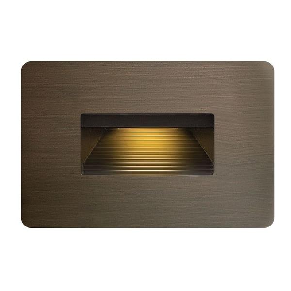 Hinkley Lighting 15508MZ 3.8w 2700K Cast Brass LED Step Light - matte bronze - N/A
