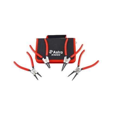 Astro 94220 astro tools 94220 7in internal external crv snap ring pliers 4 piece 0.050in