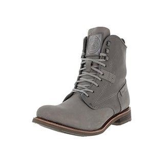 Caterpillar Mens Orson Leather Lace Up Ankle Boots - 9.5 medium (d)