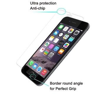 [3pack] tamACX Premium Real Tempered Glass Screen Protector for iPhone 6plus,6splus