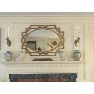 Uttermost Margutta Gold Decorative Oval Mirror