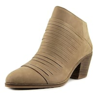 Lucky Brand Zavrina Women  Round Toe Leather Tan Ankle Boot