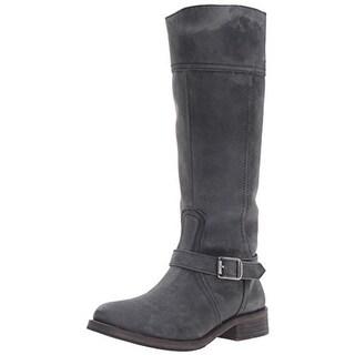 Wolverine Womens Margo Riding Boots Leather Distressed - 5 medium (b,m)