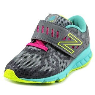 New Balance KV200 Toddler Round Toe Synthetic Gray Walking Shoe