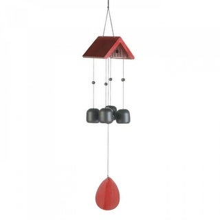 Birdhouse Roof Windchime