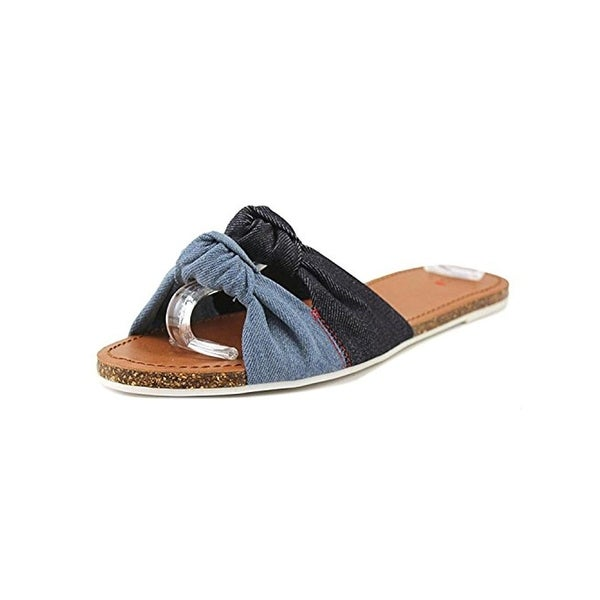 ED Ellen DeGeneres Womens Shiri Flat Sandals Knot