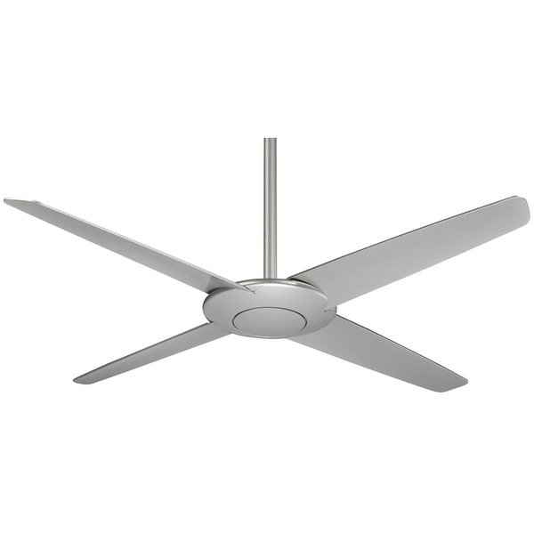 """MinkaAire Pancake 52"""" 4 Blade Energy Star Indoor Ceiling Fan with Blades, Hand Held Remote Included"""