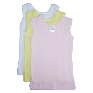 32057d796 Shop Bambini Girls Pastel Tank Top 3 Pack - Size - Newborn - Girl - Free  Shipping On Orders Over $45 - Overstock - 21837637
