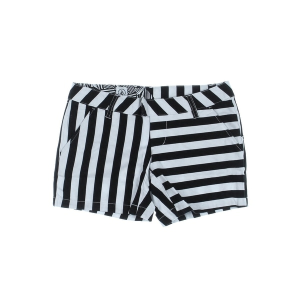 Volcom Womens Juniors Frochickie Casual Shorts Flat Front
