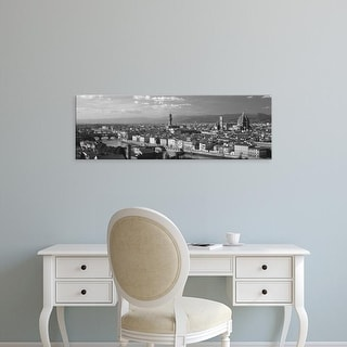 Easy Art Prints Panoramic Images's 'Florence Italy' Premium Canvas Art
