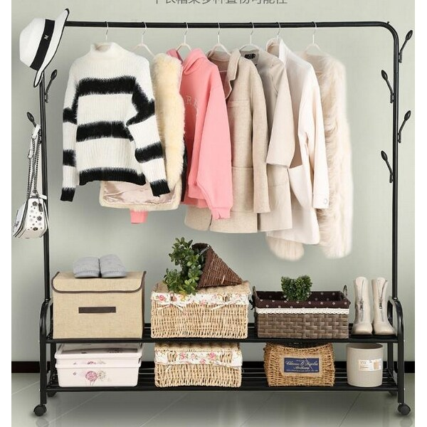 FancyHome Garment Rack Heavy Duty Portable Clothes Hanger. Opens flyout.
