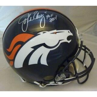 John Elway Autographed Denver Broncos Current Proline Helmet wHOF JSA