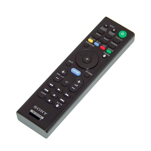 OEM Sony Remote Control Originally Shipped With: SACT790, SA-CT790, SANT5, SA-NT5