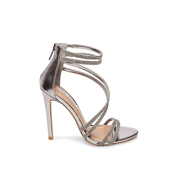Steve Madden Womens Fico Open Toe Special Occasion Strappy Sandals