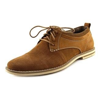 Steve Madden Geraro Men  Plain Toe Leather Tan Oxford