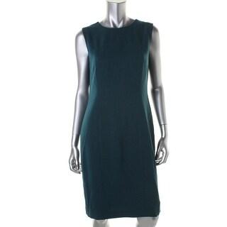 Kasper Womens Heathered Sleeveless Wear to Work Dress - 6