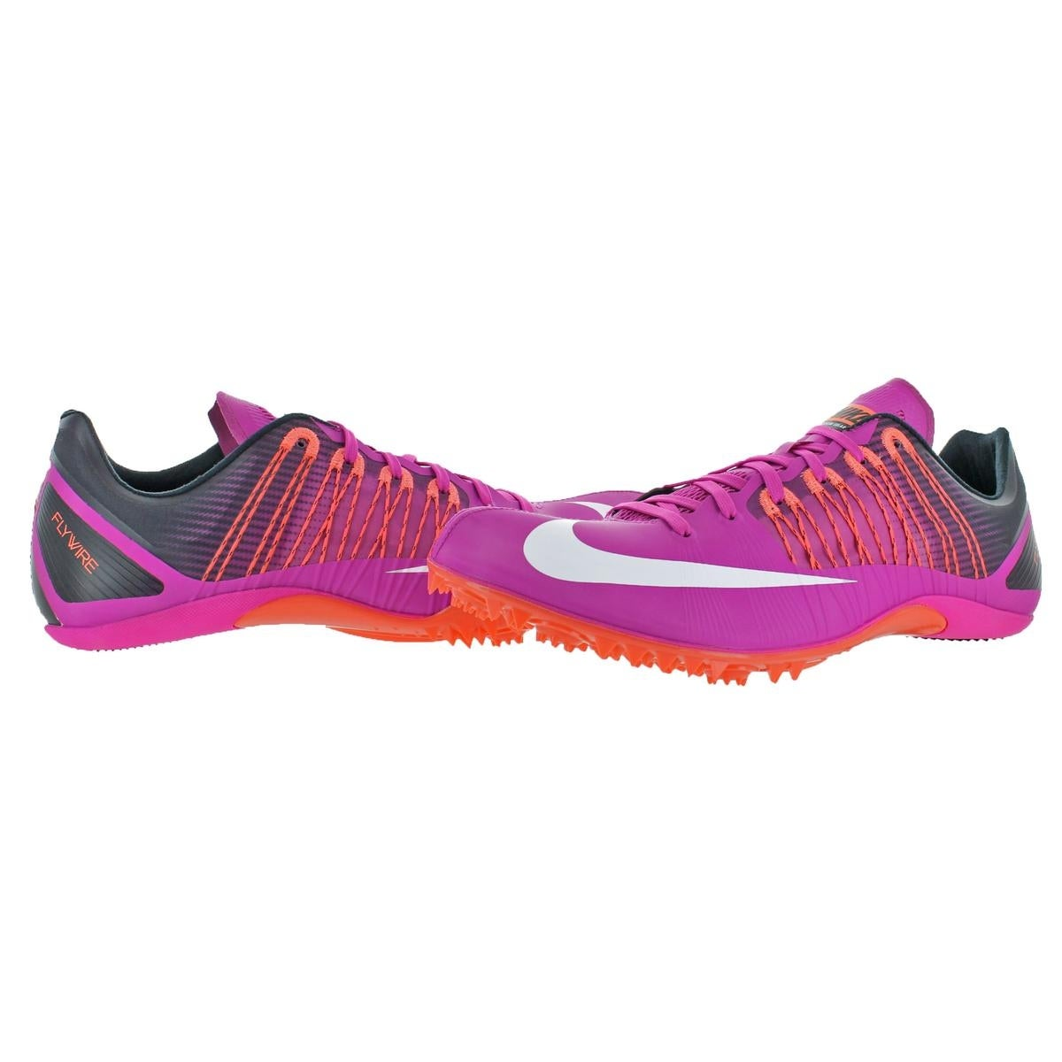 disparar escalar absceso  Shop Nike Mens Zoom Clear 5 Running Shoes Spikes Flywire ...