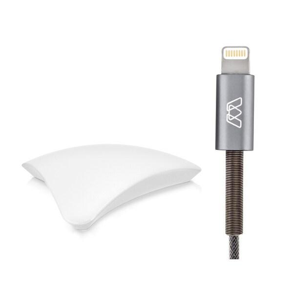 MOS Spring Lightning Cable and MOS Original (White) Bundle