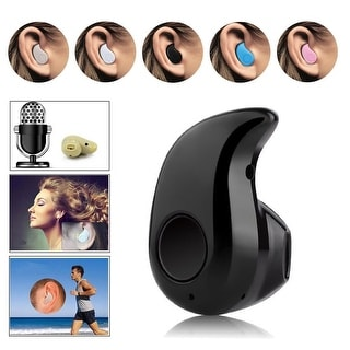 Mini Wireless Bluetooth 4.0 STEREO In-ear Headphone Headset Earphone Earpiece with Mic For iPhone Samsung