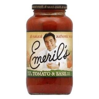 Emeril's Sauce Tomato Basil Pasta, 25 OZ (Pack of 6)