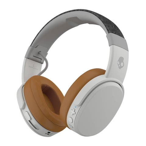 Skullcandy Crusher Wireless Headphones with mic full size wireless Bluetooth - Tan