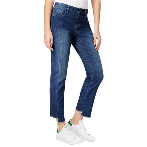 Rachel Roy Womens Casual Straight Leg Jeans