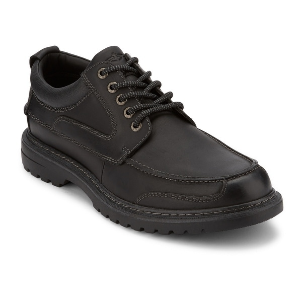 Dockers Mens Overton Leather Rugged Casual Oxford Shoe with NeverWet