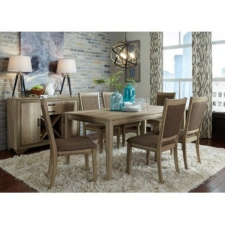 Link to The Gray Barn Abbey Field 7-piece Rectangular Table Set Similar Items in Dining Room & Bar Furniture