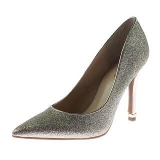 Guess Womens Trace 7 Pumps Glitter Pointed Toe - 5 medium (b,m)