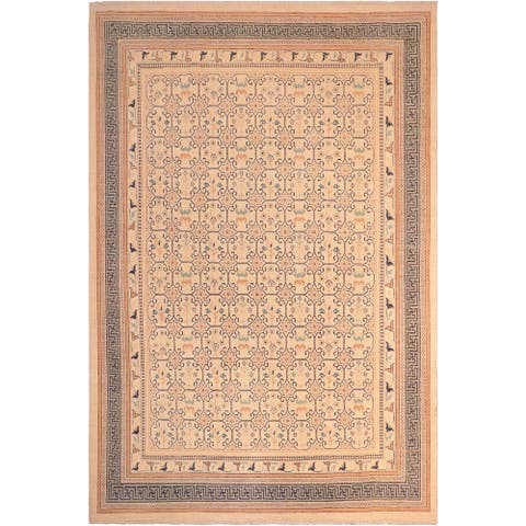 """Bohemien Ziegler Vanna Hand Knotted Area Rug -8'3"""" x 9'11"""" - 8 ft. 3 in. X 9 ft. 11 in."""