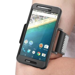 Google Nexus 5X Armband, Nexus 5X Armband,Sport Running, Nexus 5X Case, Google Nexus 5x Case, Flexible Case- Black