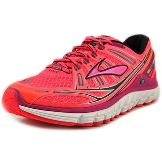 Brooks Transcend Round Toe Synthetic Running Shoe