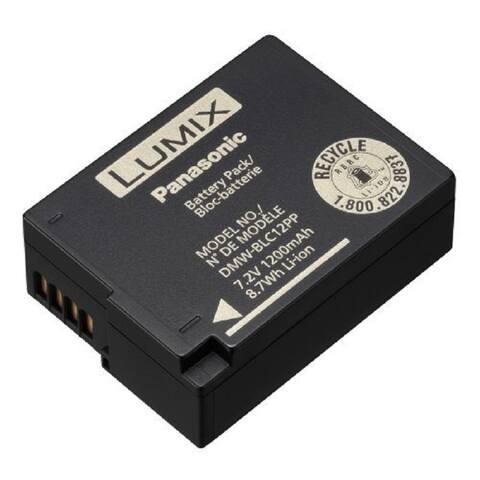 Panasonic DMW-BLC12 Lithium-Ion Battery for Panasonic Lumix® - Black