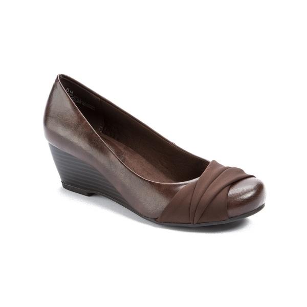 Wear.Ever. Davie Women's Heels Dk Brown