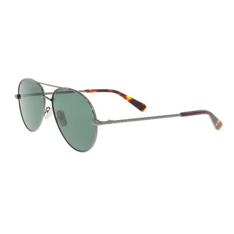 Brioni BR0034S-004 Ruthenium Aviator Sunglasses - 67-15-145