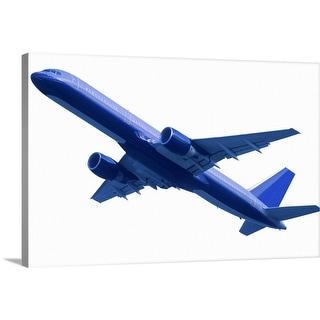 """Airplane"" Canvas Wall Art"