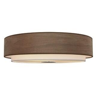 Modern 4-Light Drum Flush Mount Ceiling Light