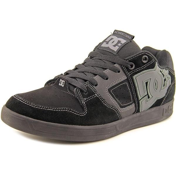 DC Shoes Sceptor SD Men Round Toe Suede Black Skate Shoe
