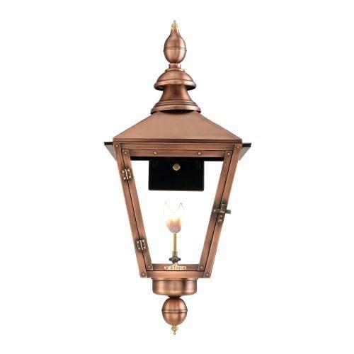 "Primo Lanterns CT-27G Charleston 20"" Wide Outdoor Wall-Mounted Lantern Natural Gas Configuration"