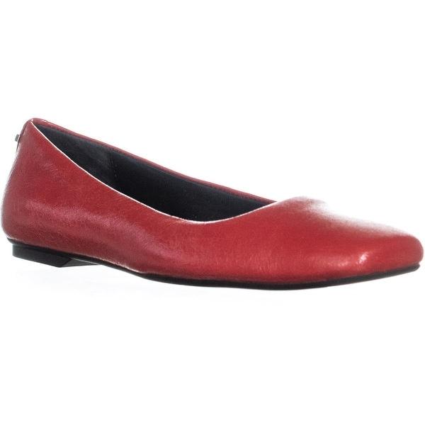 193e532c0c7 Shop Calvin Klein Enith Vintage Glazed Flats