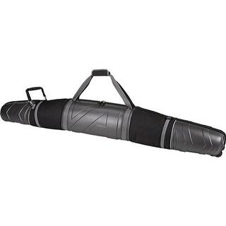 Athalon Molded Wheeling Double Ski Bag - 185cm Silver/Black - us one size (size none)