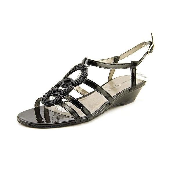 Karen Scott Women's Jeni Ankle Strap Wedge Sandals