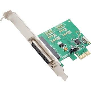 Syba Multimedia SI-PEX10010 SYBA Multimedia 1-port Parallel PCI-e Controller Card - PCI Express x1