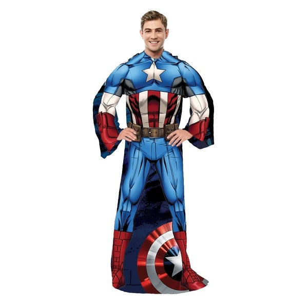 Adult Captain America Comfy Throw