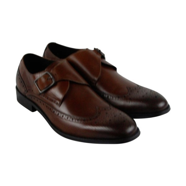 Kenneth Cole New York Design 10384 Mens Brown Casual Dress Oxfords Shoes
