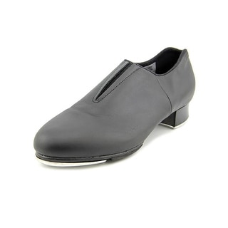 Bloch Tap-Flex Slip On Women Round Toe Leather Black Dance