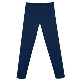 Hanes Girls' Cotton Stretch Leggings - Size - XS - Color - Navy