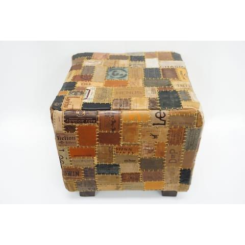 Daniella Leather Cube