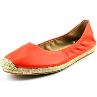 Via Spiga Arnelia Round Toe Leather Espadrille
